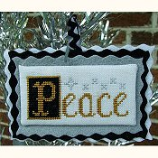Misty Hill Studio - A Mid-Century Modern Christmas Series - Peace THUMBNAIL