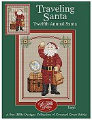 Sue Hillis Designs - Traveling Santa THUMBNAIL