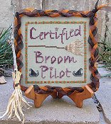 Designs By Lisa - Certified Broom Pilot THUMBNAIL