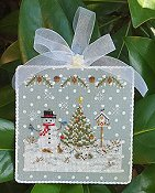 cover of Blackberry Lane Designs - Frosty Weather cross stitch chart THUMBNAIL