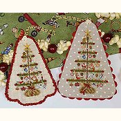 cover of Blackberry Lane Designs - Christmas Memories cross stitch chart THUMBNAIL