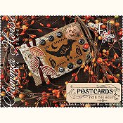 Summer House Stitche Workes - Postcards From The Heart - #10 Fall