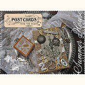 Summer House Stitche Workes - Postcards From The Heart - #12 New Year