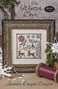 cover of Jeannette Douglas Designs - The Winter Deer cross stitch pattern THUMBNAIL