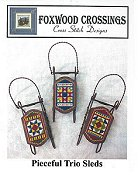 Foxwood Crossings - Pieceful Trio Sleds