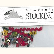 Shepherd's Bush - Slater's Stocking Embellishment Pack