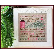 photo of Little House Needleworks - Fear Not Cross Stitch_THUMBNAIL