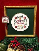 cover of Scissor Tail Designs - Merry Yuletide Cross Stitch