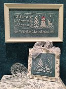 cover of Scissor Tail Designs - White Christmas Cross Stitch_THUMBNAIL