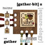 photo of Just Another Button Company - Square.ology - Gather Bit 115 Cross Stitch THUMBNAIL