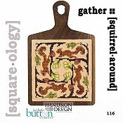 cover of Just Another Button Company - Square.ology - Squirrel Around 116 Cross Stitch chart THUMBNAIL