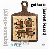 cover of Just Another Button Company - Square.ology - Harvest Basket 118 Cross Stitch THUMBNAIL