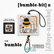 cover of Just Another Button Company - Square.ology - Bumble Bit 119 cross stitch pattern THUMBNAIL