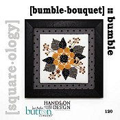 cover of Just Another Button Company - Square.ology - Bumble Bouquet 120 cross stitch pattern THUMBNAIL