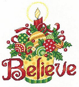 cover of Imaginating - Believe Ornaments 2941 cross stitch pattern MAIN
