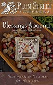 Plum Street Samplers - Blessings Abound THUMBNAIL