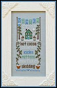 cover of Country Cottage Needleworks - Seasonal Celebrations - Winter Cross Stitch