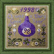 cover of Tempting Tangles Designs - A Good Year cross stitch pattern