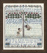 picture of Tempting Tangles Designs - Before The Fall Cross Stitch sampler