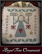 cover of Nikyscreations Angel Tree Ornament cross stitch pattern