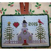 picture of The Stitching Parlor - Peaceful Season cross stitch pattern THUMBNAIL