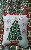 cover of Misty Hill Studio - A Mid-Century Modern Christmas Series - Christmas Tree Cross Stitch