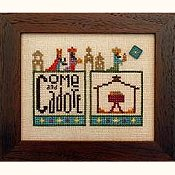cover of Heart In Hand Needleart - Double Up - Nativity cross stitch pattern