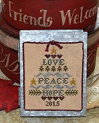 Abby Rose Designs - Love, Peace, Hope Tree