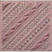 Freda's Fancy Stitching - Rose on Rose decorative stitches