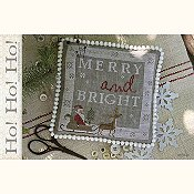 cover of With Thy Needle & Thread - Ho Ho Ho cross stitch pattern