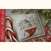 cover of With Thy Needle & Thread - Merry Mouse cross stitch pattern