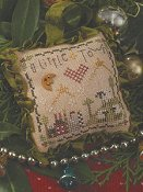 picture of Shepherd's Bush - O Little Town cross stitch chart for 2015 ornament