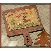 cover of Dames of the Needle - Merry Christmas cross stitch hornbook