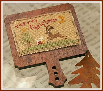 cover of Dames of the Needle - Merry Christmas cross stitch hornbook_MAIN