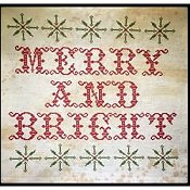 cover of Death By Thread - Merry and Bright cross stitch pattern