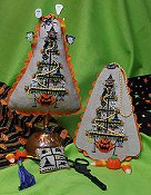 cover of Blackberry Lane Designs - Hollow Eve's Tree Cross Stitch ornaments and scissor's fob