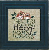 photo of Bent Creek - Hoot cross stitch pattern