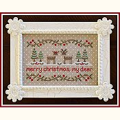 Country Cottage Needleworks - Merry Christmas My Deer THUMBNAIL