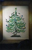 picture of Marilynn & Jackies Collectibles - Electric Tree cross stitch pattern