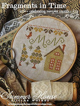 Summer House Stitche Workes Fragments In Time 7 Cross