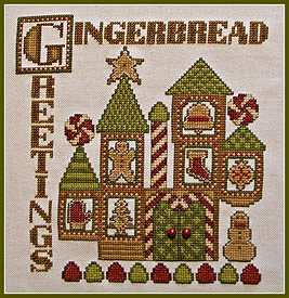 photo of Hinzeit - Charmed - Gingerbread Greetings cross stitch MAIN