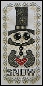 photo of Hinzeit - Charmed - Love Snow cross stitch THUMBNAIL