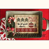 cover of The Scarlett House - Be of Good Cheer cross stitch pattern THUMBNAIL