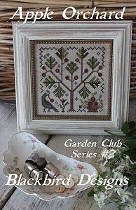 cover of Blackbird Designs - Garden Club Series #2 - Apple Orchard cross stitch chart MAIN