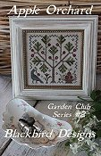 cover of Blackbird Designs - Garden Club Series #2 - Apple Orchard cross stitch chart THUMBNAIL