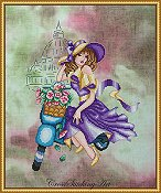 Cross Stitching Art - Violetta