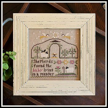 Little House Needleworks - Born in a Manger MAIN