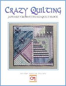 Carolyn Manning Designs - Crazy Quilting January Block THUMBNAIL