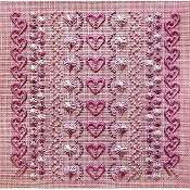 Freda's Fancy Stitching - More Rose on Rose
