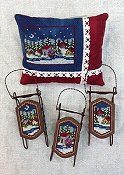 Foxwood Crossings - Small Sleds - Mini Village